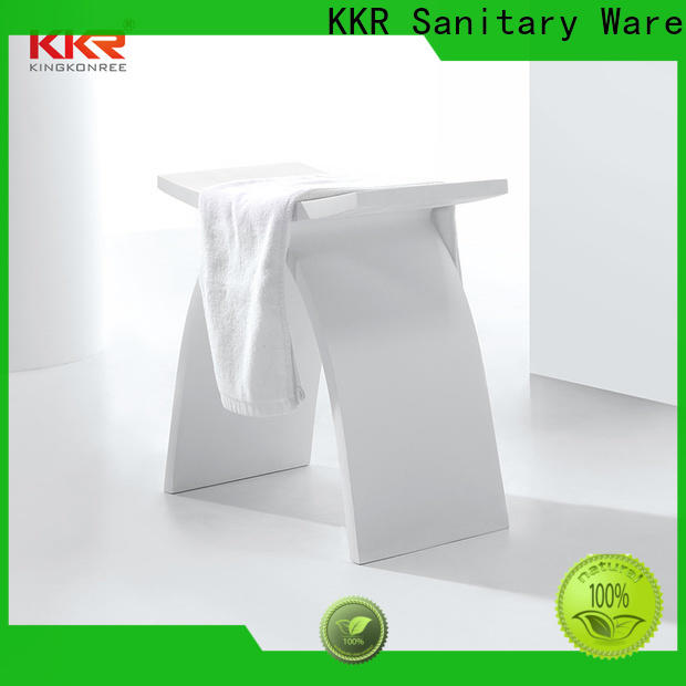 thick bathroom chairs and stools customized for restaurant