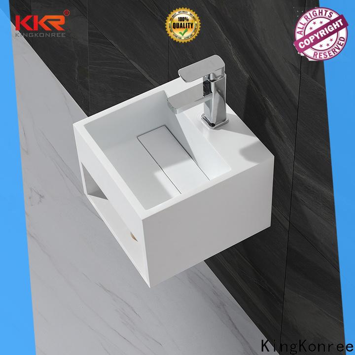 KingKonree toilet wash basin design for hotel