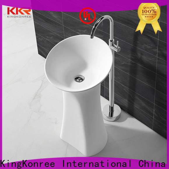 KingKonree sturdy free standing wash basin manufacturer for home