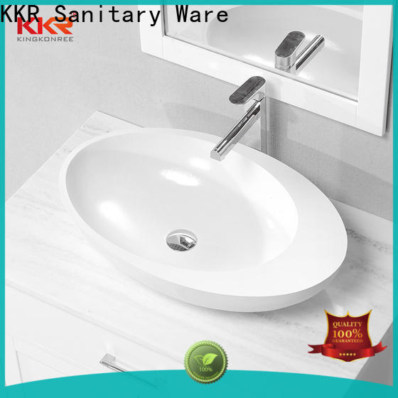 KingKonree bathroom countertops and sinks supplier for home