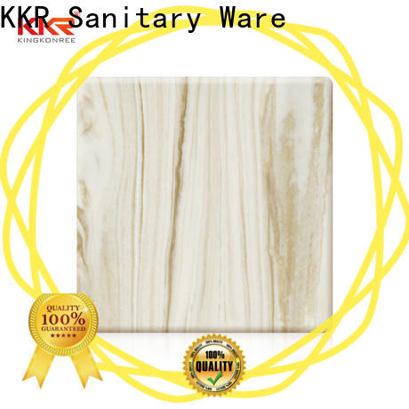 KingKonree marble acrylic solid surface sheet directly sale for home