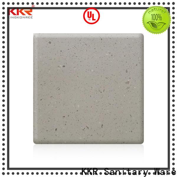 KingKonree acrylic solid surface countertops customized design for restaurant