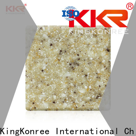 KingKonree types of solid surface countertops design for hotel
