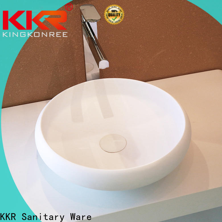 KingKonree above counter sink bowl manufacturer for hotel