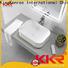 KingKonree excellent small countertop basin design for room