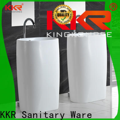 KingKonree durable floor standing basin customized for home