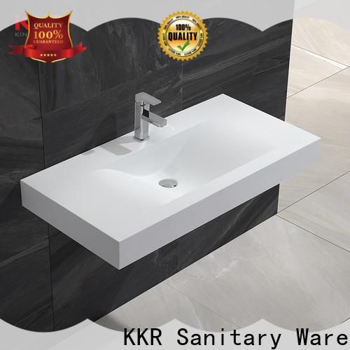 KingKonree wall hung bathroom basins supplier for toilet