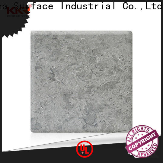 marble acrylic solid surface customized for indoors