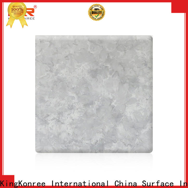 KingKonree solid surface sheets design for indoors