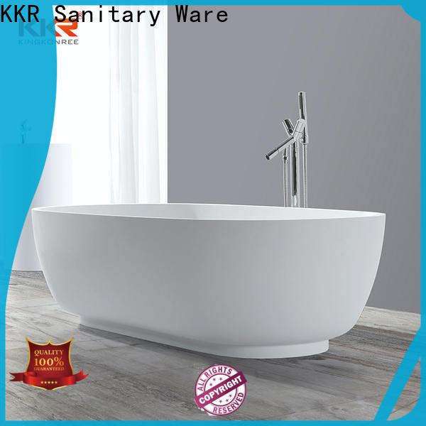 KingKonree durable acrylic clawfoot bathtub at discount