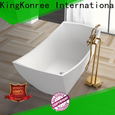 KingKonree solid surface freestanding tubs free design for family decoration