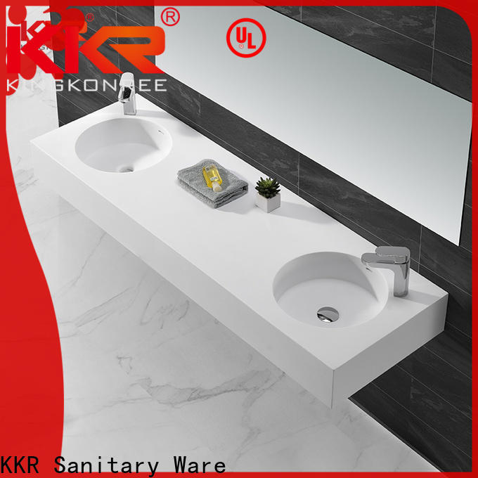 brown wall mounted wash basins supplier for home
