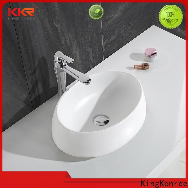 KingKonree thermoforming above counter vanity basin at discount for room
