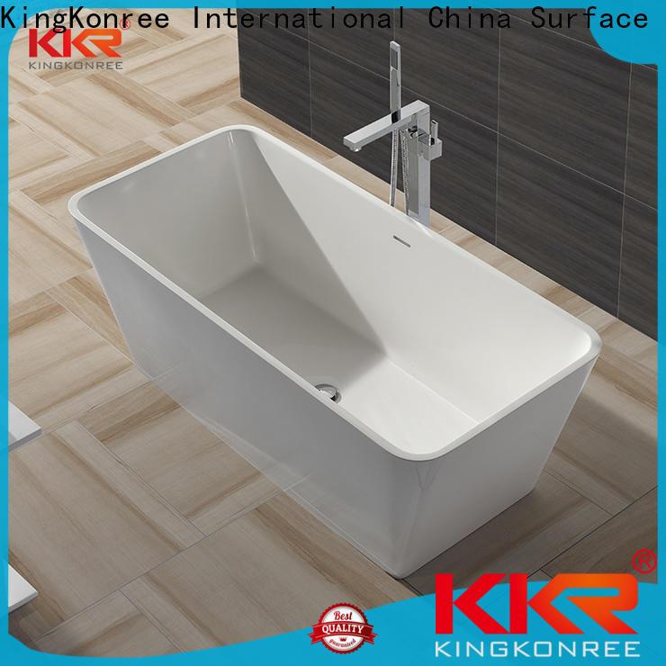 practical acrylic clawfoot bathtub OEM for hotel