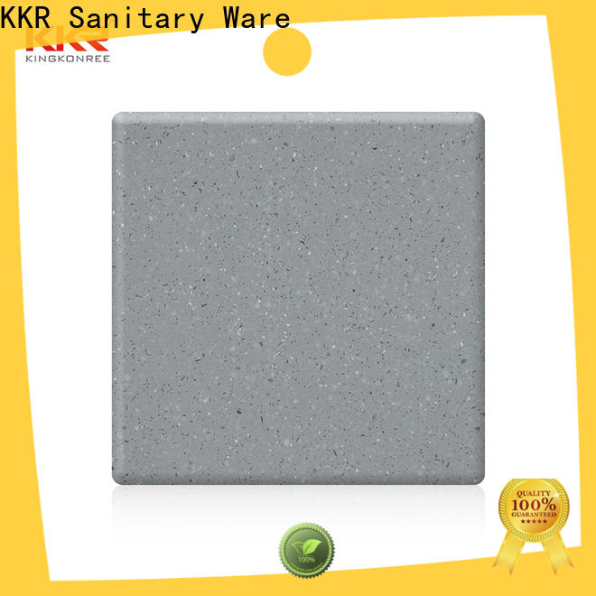 hot selling types of solid surface countertops customized for home