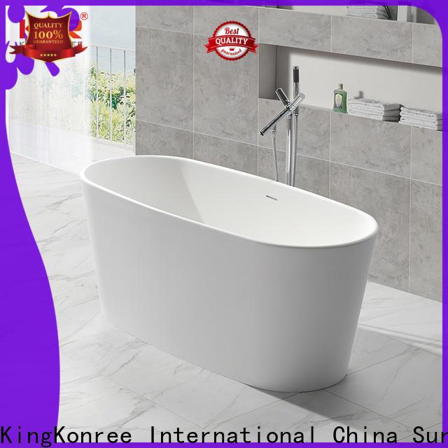 KingKonree matt freestanding baths price custom for shower room