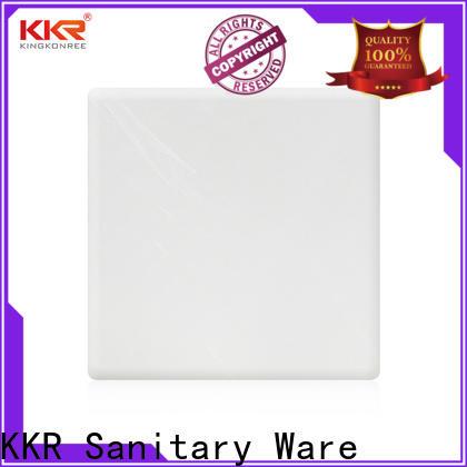KingKonree solid surface sheets manufacturer for indoors