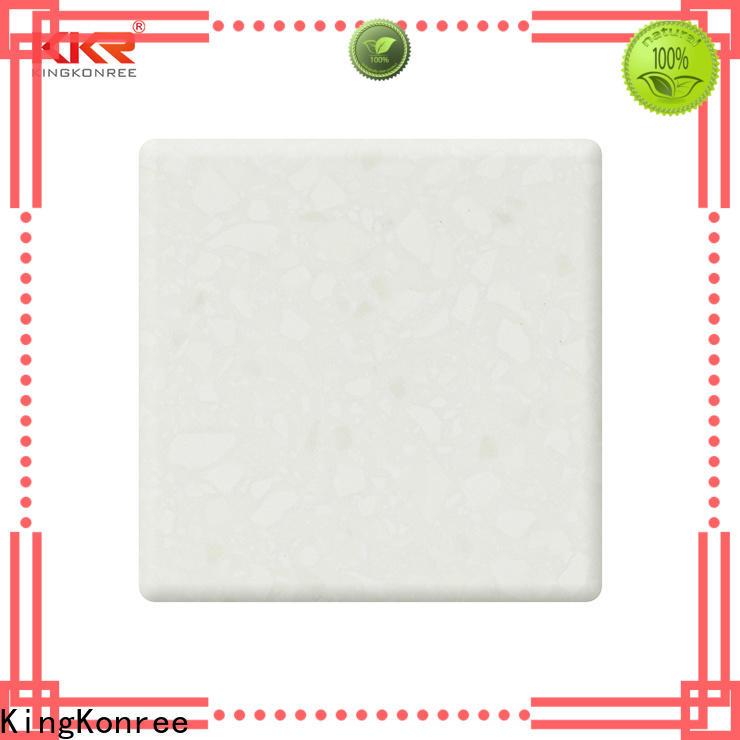 KingKonree solid surface countertop material supplier for hotel