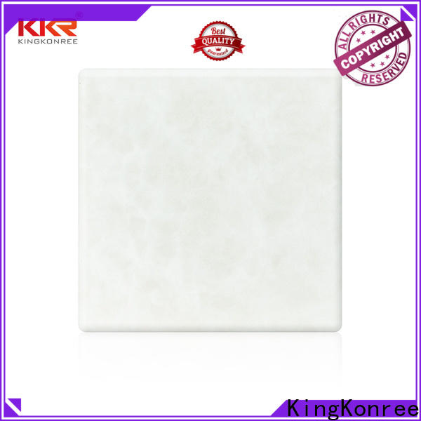 KingKonree integrated solid surface sheets sink for motel