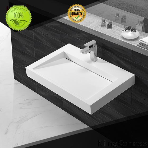 KingKonree brown washroom basin manufacturer for bathroom