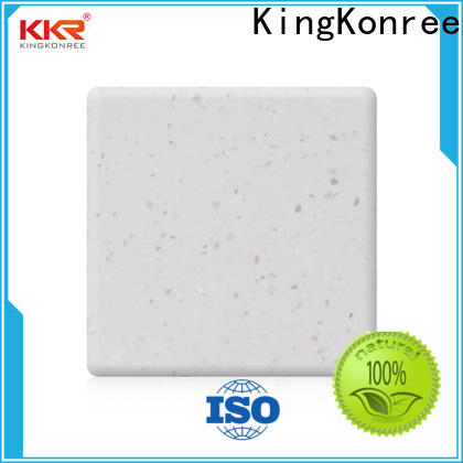 KingKonree solid surface material manufacturer for home