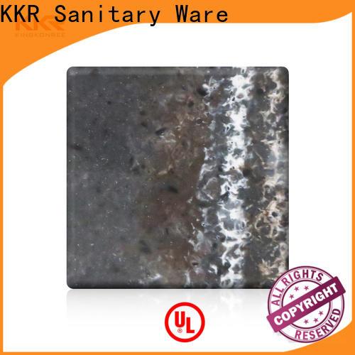 KingKonree acrylic solid surface sheet supplier for home
