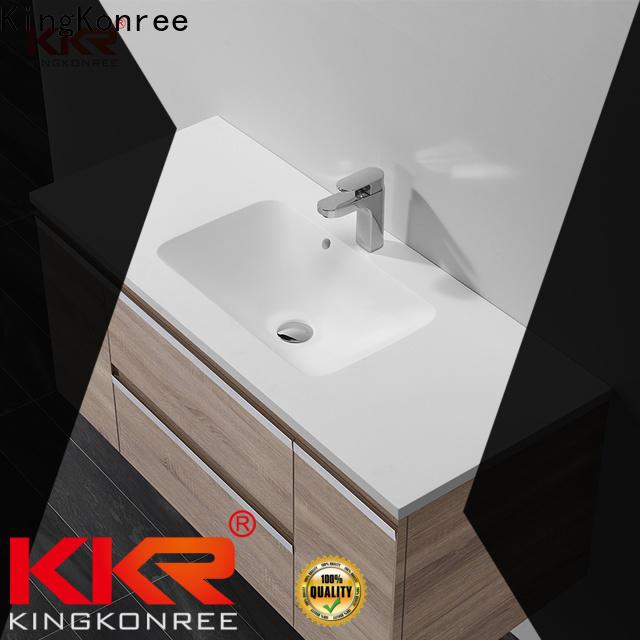 KingKonree excellent wash basin models and price supplier for hotel