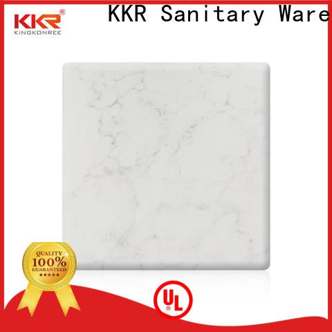 artificial solid surface sheets for sale supplier for hotel