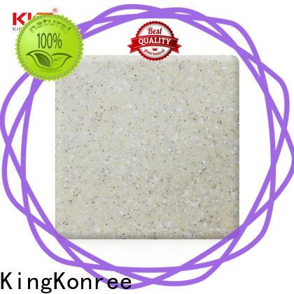 KingKonree solid surface countertop material design for room