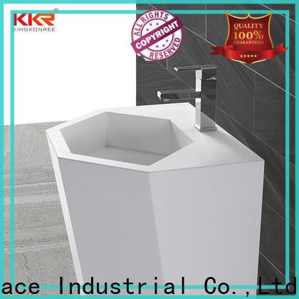 KingKonree stable free standing wash basin supplier for hotel