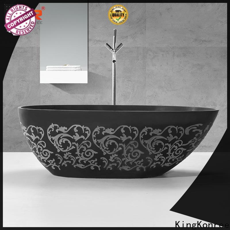KingKonree rectangular freestanding bathtub at discount for bathroom