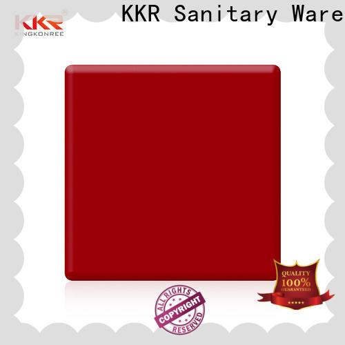 KingKonree soild solid surface countertop material manufacturer for room