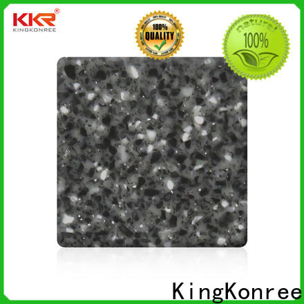 KingKonree solid surface countertop material customized for hotel