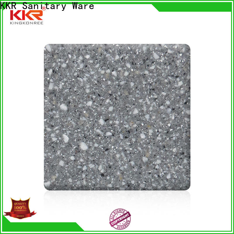 KingKonree acrylic solid surface sheets customized design for room