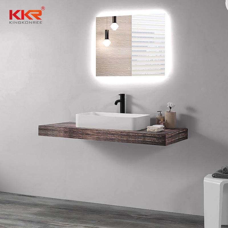 Rectangle Above Counter Wash Basin Bathroom Basin Vanity Sink