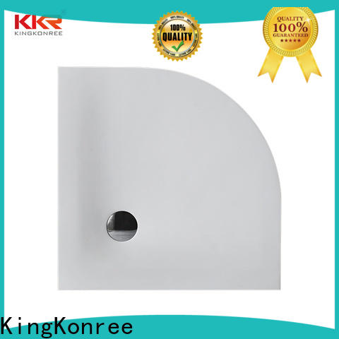 white long shower tray top for hotel