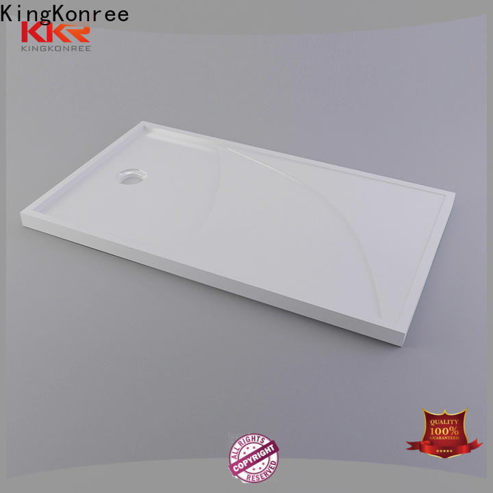 KingKonree acrylic bathroom shower trays supplier for bathroom