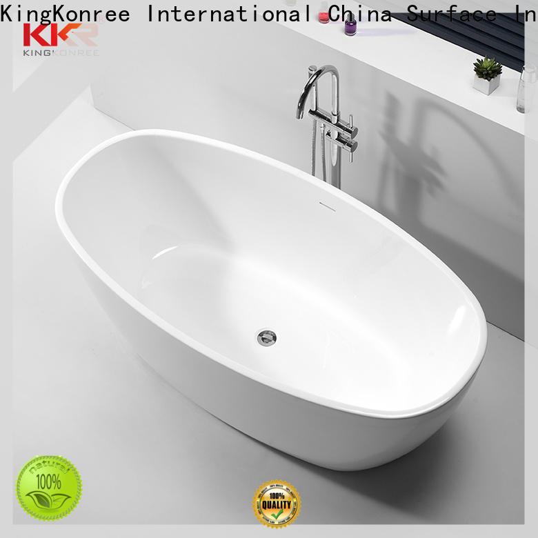 KingKonree finish discount bathtubs OEM for hotel