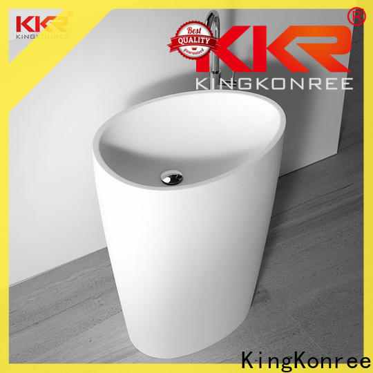 artificial bathroom sink stand factory price for home