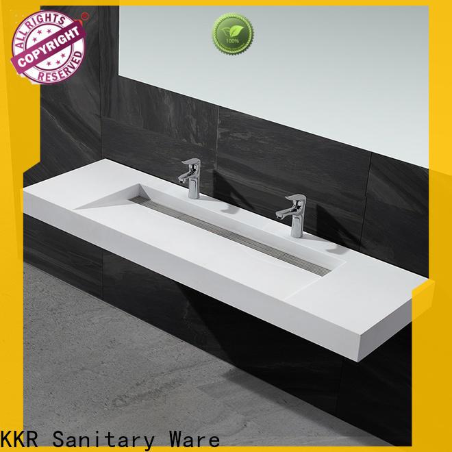 KingKonree unique rectangular wash basin design for bathroom