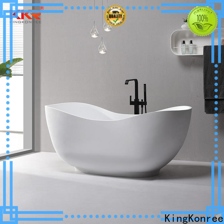 KingKonree matt modern freestanding tub OEM