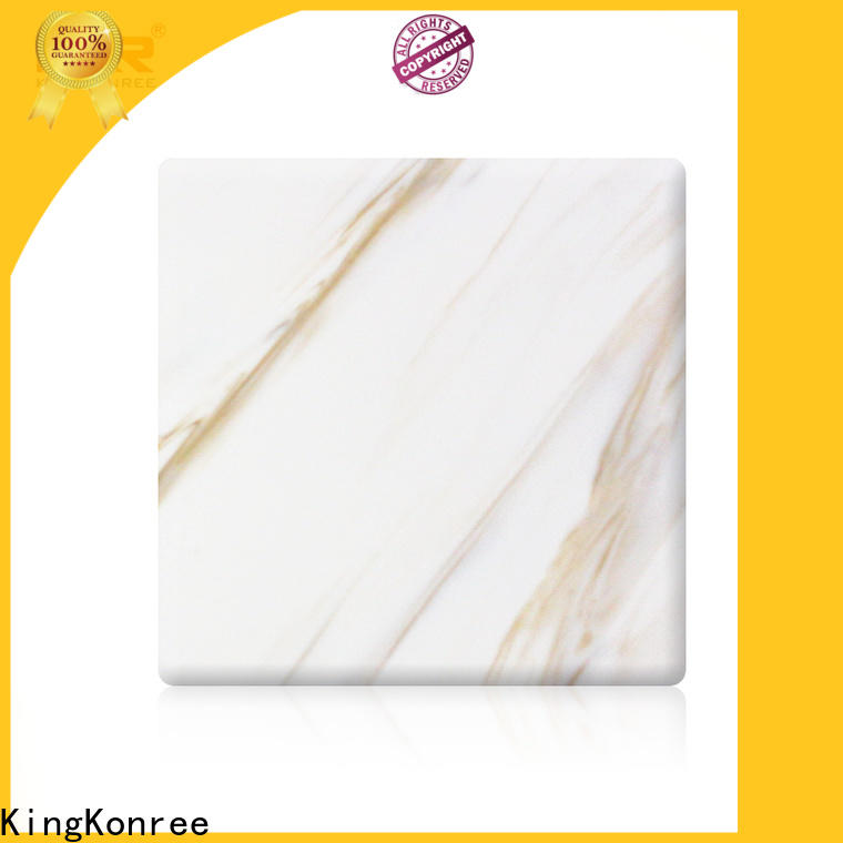 white solid surface sheets series for room