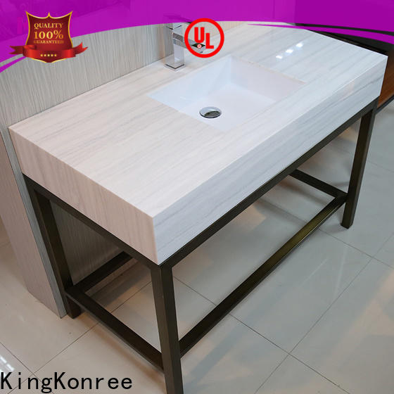 KingKonree quality hard surface countertops supplier for bathroom
