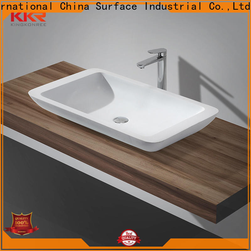 KingKonree kkr1512 bathroom countertops and sinks at discount for restaurant