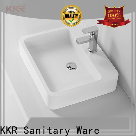 KingKonree durable above counter sink bowl customized for room