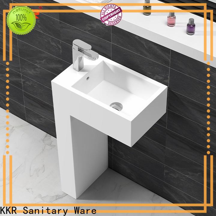 KingKonree Italian bathroom sink stand customized for motel