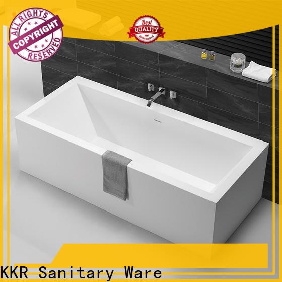 KingKonree quality rectangular freestanding tub free design for shower room