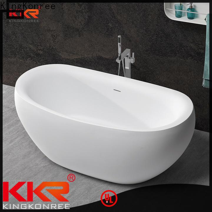 black round freestanding bathtub free design