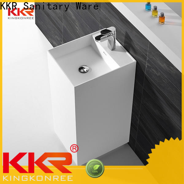 KingKonree corian wash basin on-sale for bathroom