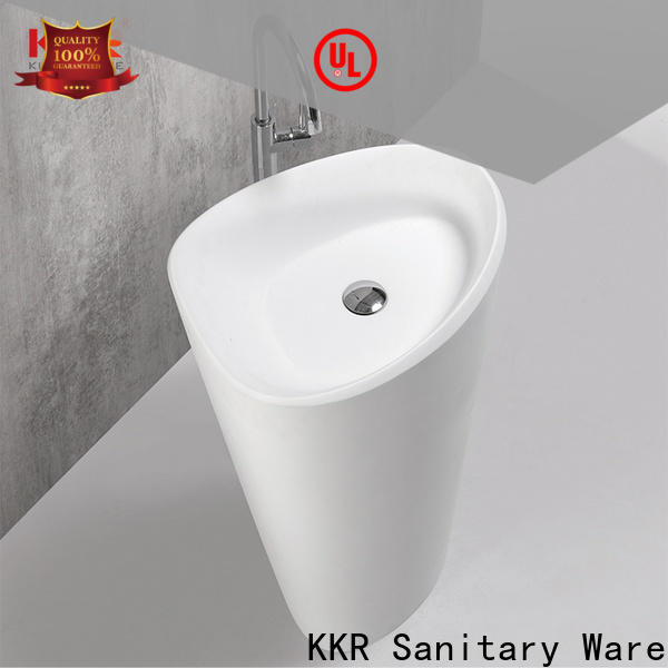 KingKonree free standing wash basin factory price for bathroom